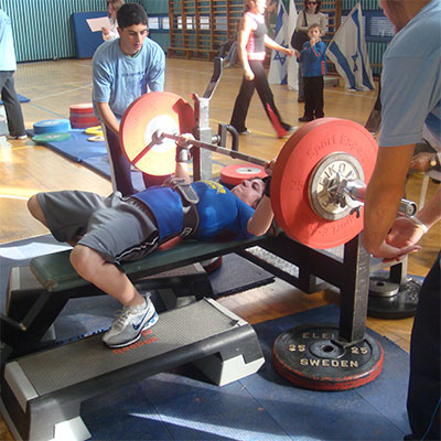 How much do bench press bars weigh