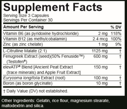 Nugenix Total T Ingredients